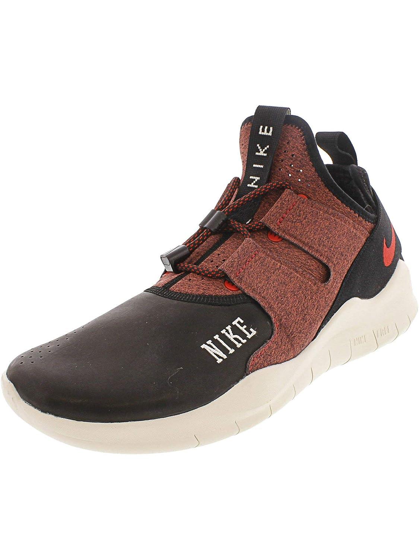 negro rojo Universidad Nike Free RN CMTR 2018, Hauszapatos de Running para Hombre