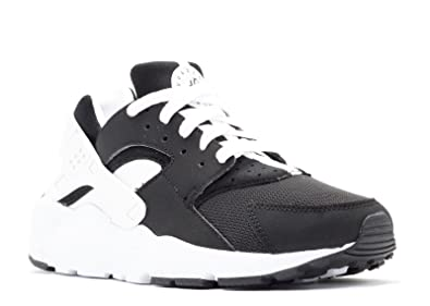 b2b25c01c013e ... free shipping nike huarache run boys shoes black white size 4.5 m us big  kid 71343 ...