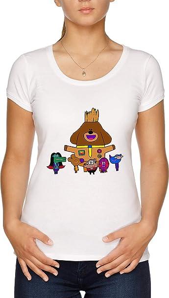 5f97766f3 Ardillas De Los Galaxia Camiseta Mujer Blanco  Amazon.es  Ropa y accesorios