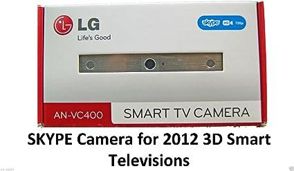 LG an-vc400 Smart TV Skype cámara nuevo modelo de 2012 para 2012 LG televisores sólo: Amazon.es: Electrónica