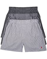 Polo Ralph Lauren Classic Woven Boxers 3-Pack