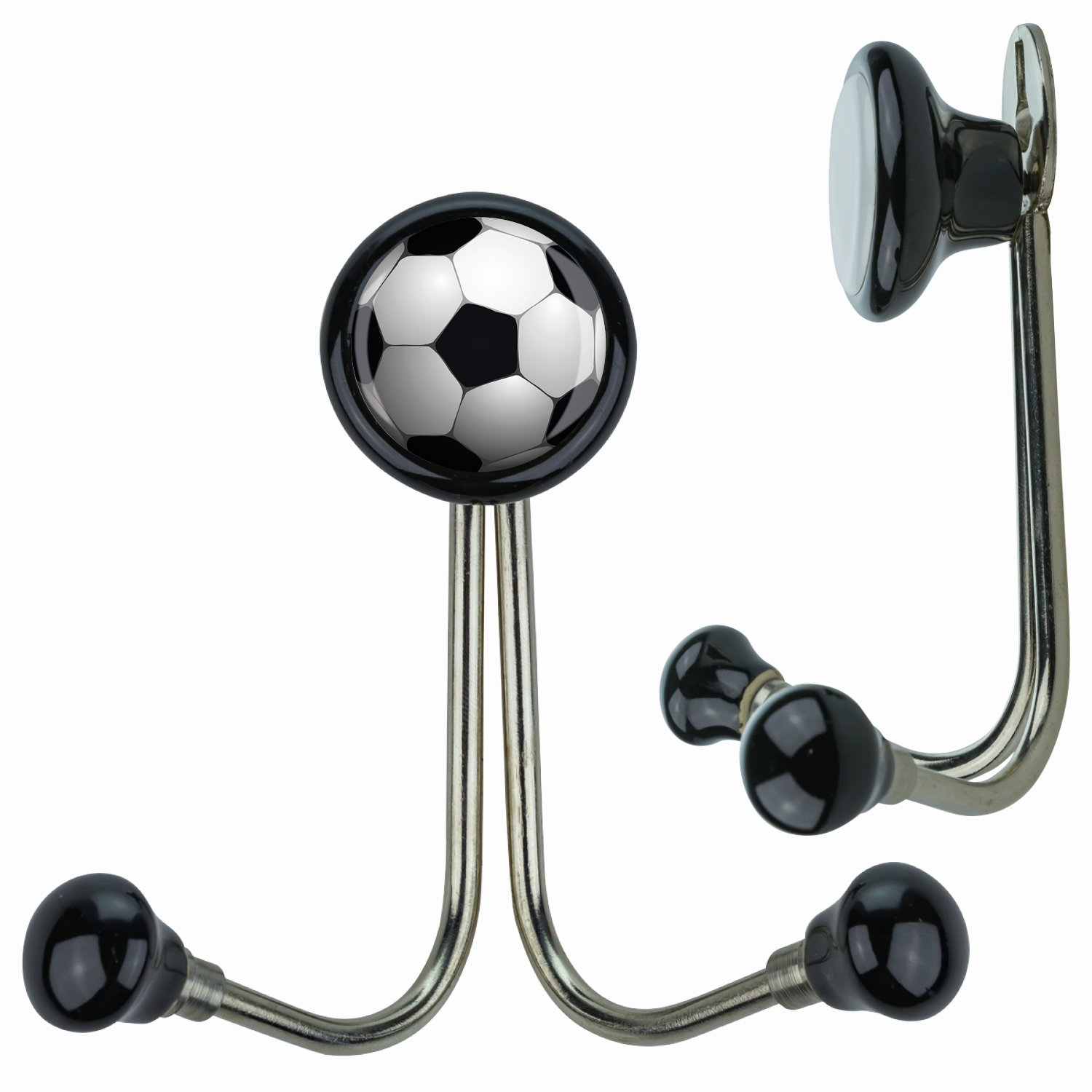 HD03445S Football Coat Hooks Coat Hooks Coat Hooks, Children's, Children's Room Nursery School, All Ages, with Plastischem Effect – Great Designs TV Media Entertainment and many other fun, Bowls and Bright Children's GIC GmbH