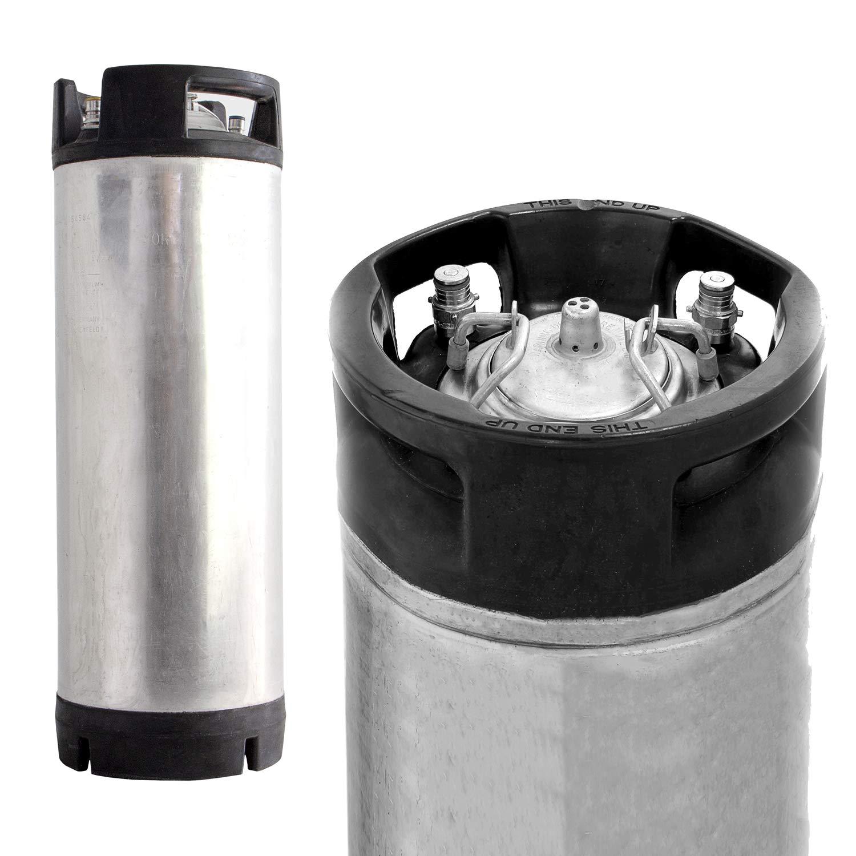 Beverage Factory 4X-KEG-PLSET Reconditioned 5 gal Pin Lock Kegs Set of 4