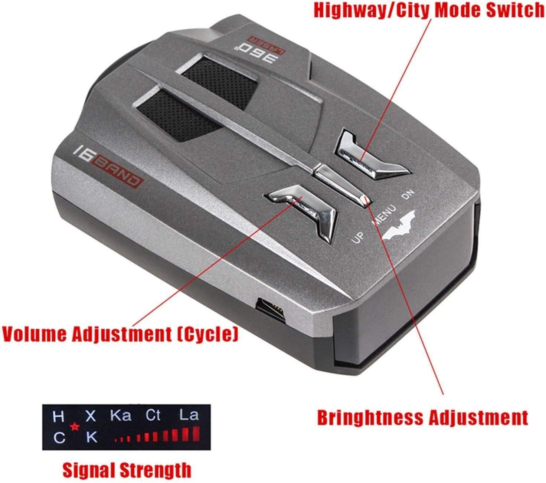 WJGJ Radar Detector,Extreme Long Range Radar Detector Single ...