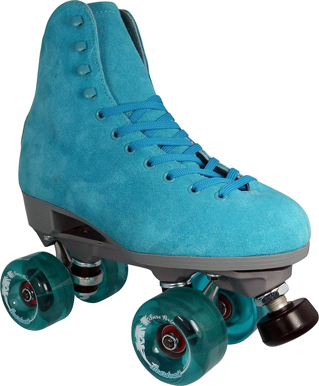 Sure-Grip Boardwalk Roller Skate Package - sz Mens 7 / Ladies 8
