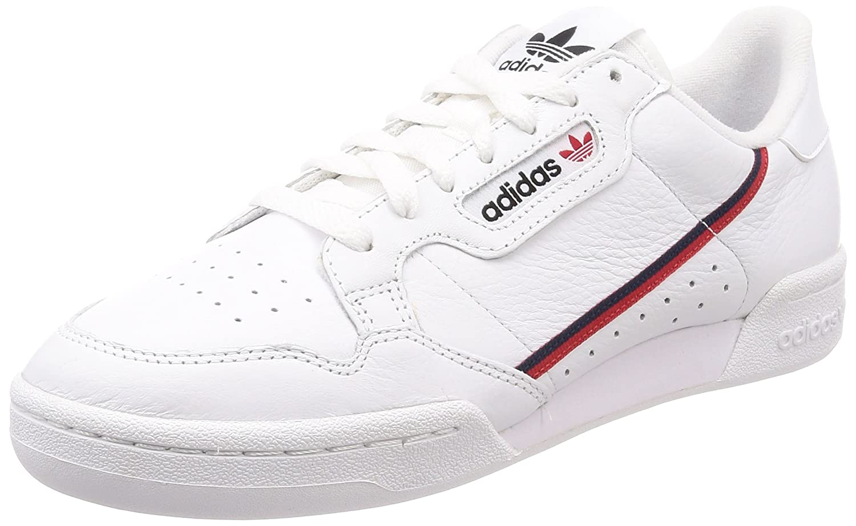 adidas Continental 80s Schuhe  White/Scarlet|Gr.36 (Uk 3,5)