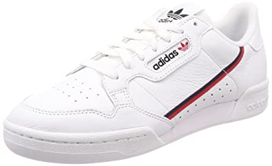 adidas Shoes Men Low Sneakers B41674 Continental 80 Size 42 2-3 White 0b7d20220