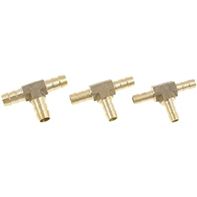 Dorman 55109 HELP! 3-Way Tee Brass Fuel Hose Fitting: Automotive
