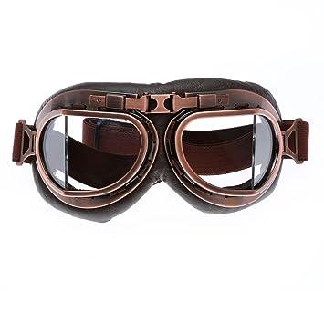 Casco Steampunk Vintage, gafas de sol, gafas protectoras para exteriores, motocross