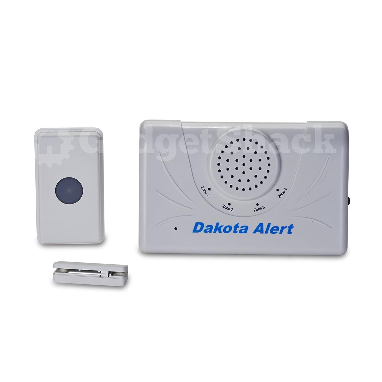 sc 1 st  Amazon.com & Amazon.com: Dakota Alert 2500 Ft. Wireless Doorbell Set: Camera u0026 Photo