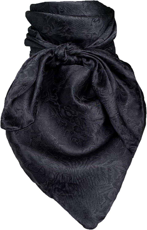 Wild Rag Silk Jacquard Black
