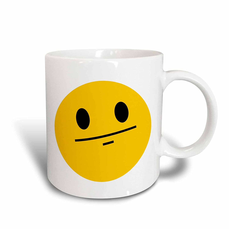 Smiley Face Coffee Mug Amazoncom 3drose Mug 113109 2 Poker Face Smiley Funny Straight
