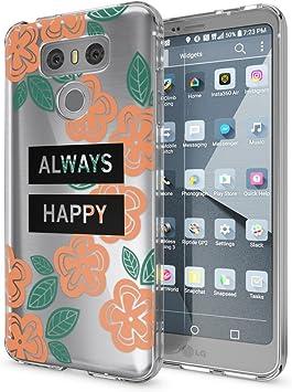 NALIA Funda Carcasa Compatible con LG G6, Motivo Design Movil ...