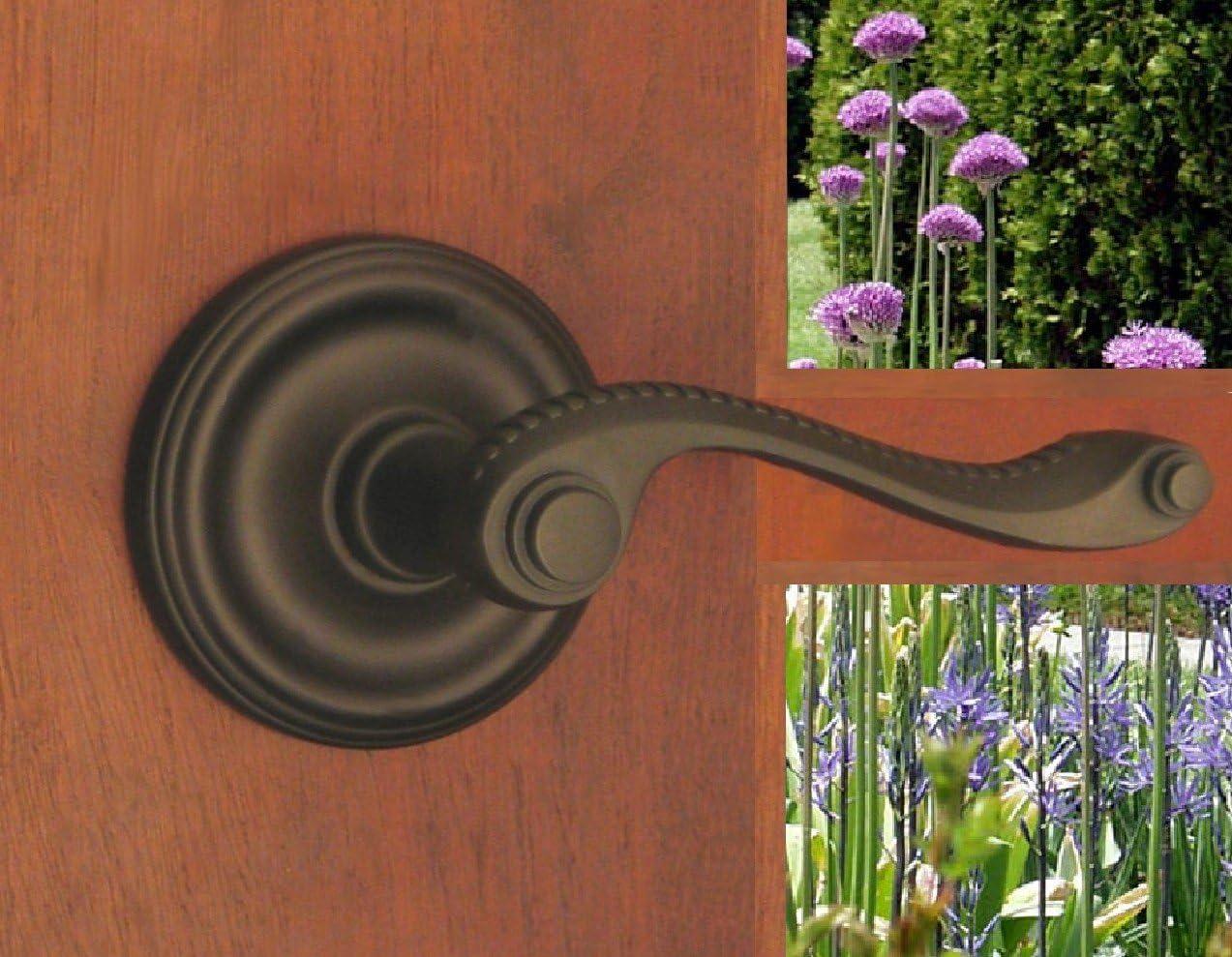 FPL Ashford Passage Door Lever Set for Closet, Hallway, and Bedroom Doors, 2-3/4