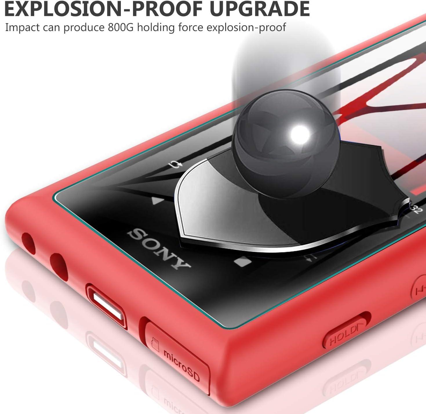 Ivso Displayschutz Für Sony Nw A105 Walkman Mp3 Player Computer Zubehör
