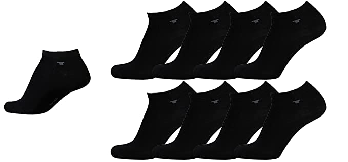 Tom Tailor Herren Sneaker Socken, 3er Pack schwarz 43 46