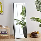"""Rose Home Fashion Full Length Mirror, Aluminum Alloy Thickened Frame-64"""" x21"""", Floor Mirror, Standing Mirror, Full Body…"""