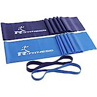 Furinno RFitness Professional Training Resistance Band 4-PC Set, RF1501