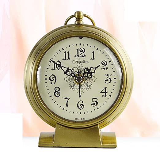 Reina moderna tamaño jardín reloj Reloj jardín europeo antiguo reloj de cuarzo salón moderno reloj reloj de la atmósfera de manera: Amazon.es: Hogar