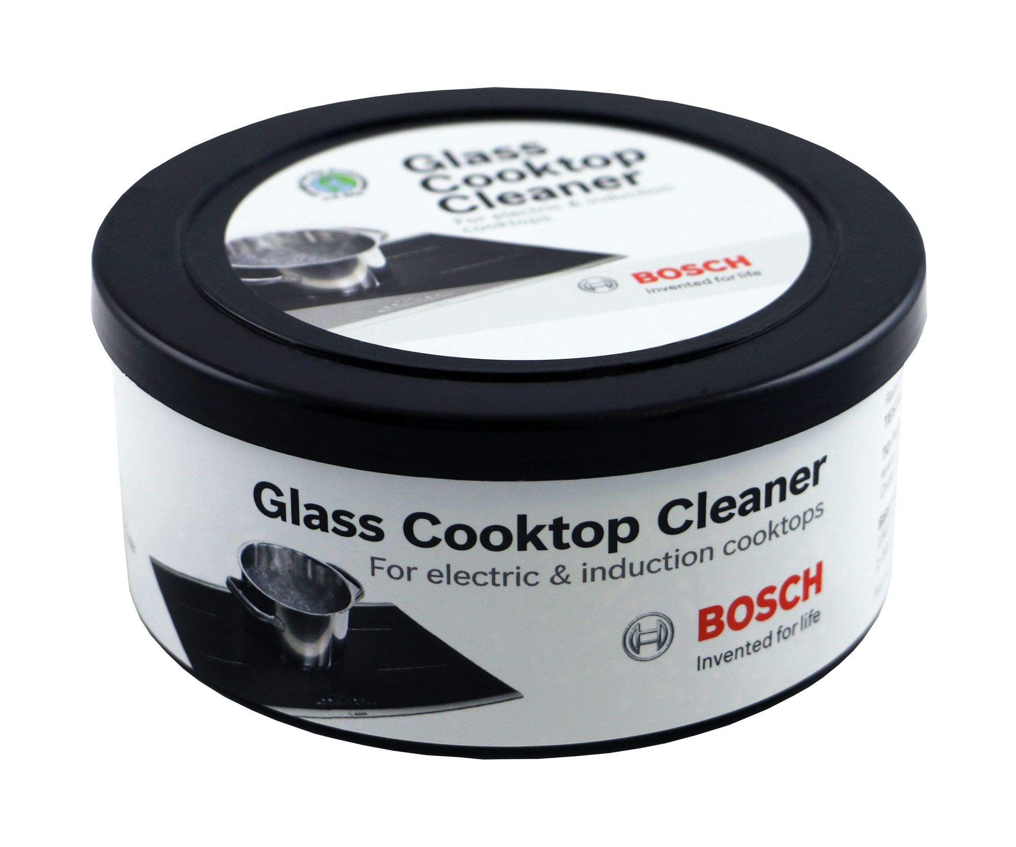 Bosch 12010030 Glass Cooktop Cleaner For Electric & Induction Cooktops Set of Two 12-ounce tubs by Bosch