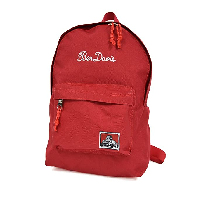 bb713adfbb30 Amazon | (ベンデイビス) BEN DAVIS キッズ リュック BDW-9038 メンズ レディース 子供 男の子 女の子 リュックサック  バックパック 通園 通学 Red | リュックサック