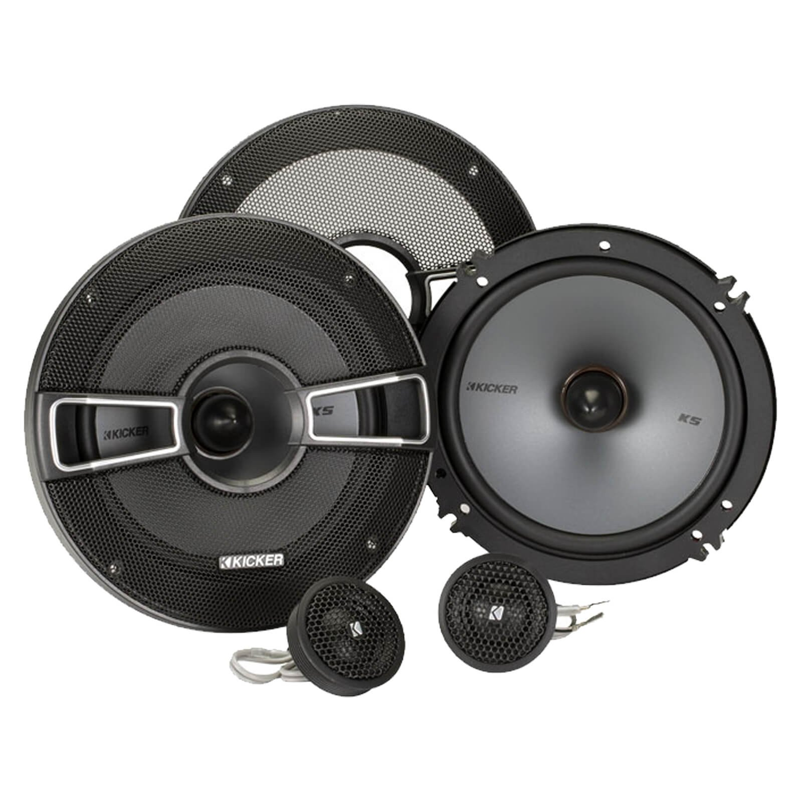 Kicker 41KSS654 6.5 inch Component Speakers