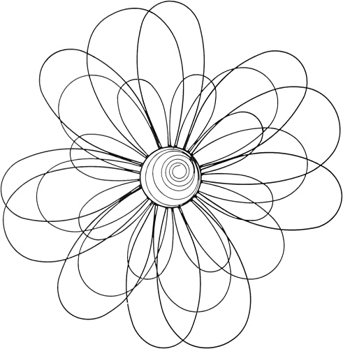 Deco 79 64664 Metal Wall Decor, 29-Inch, Just Have a Look