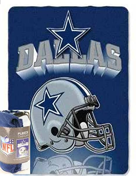 67dacd452e0 Image Unavailable. Image not available for. Color  Dallas Cowboys NFL  Fleece Throw Mirror ...