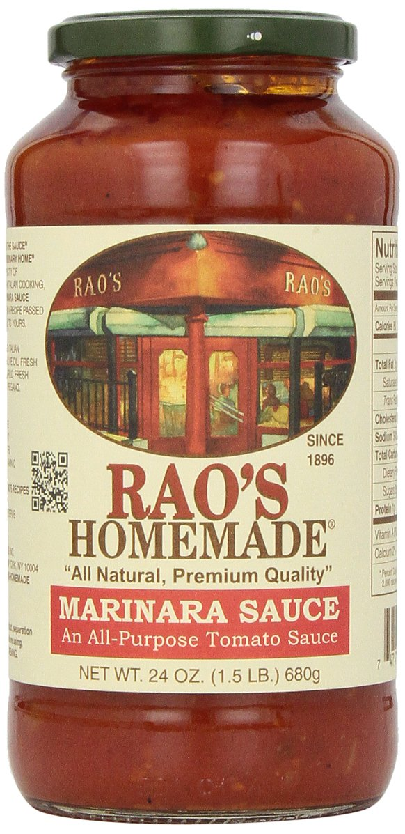 Rao's Homemade Marinara Sauce, 24 Oz Jar, 1 Pack