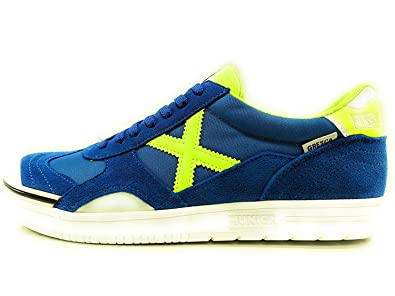 Zapatillas de fútbol Sala MUNICH GRESCA Azul-Verde (3000275)
