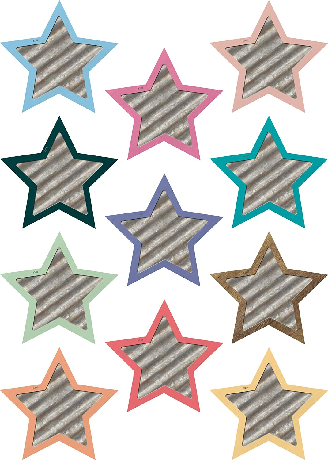 Teacher Created Resources Home Sweet Classroom Stars Mini Accents (TCR8860)
