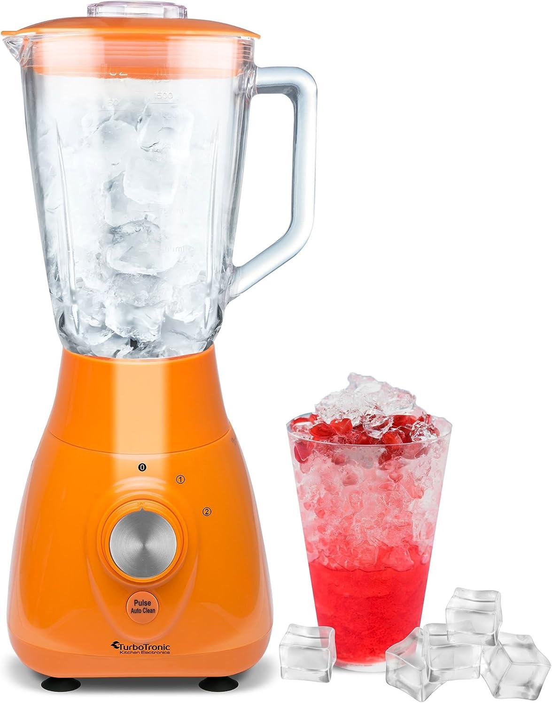 Licuadora 2 en 1 (800 W) con recipiente mezclador de cristal (1,5 ...