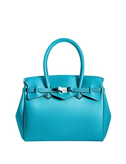 Save My Bag Miss Women s Handbag Turquoise  Amazon.co.uk  Clothing 7c197bfabdc55