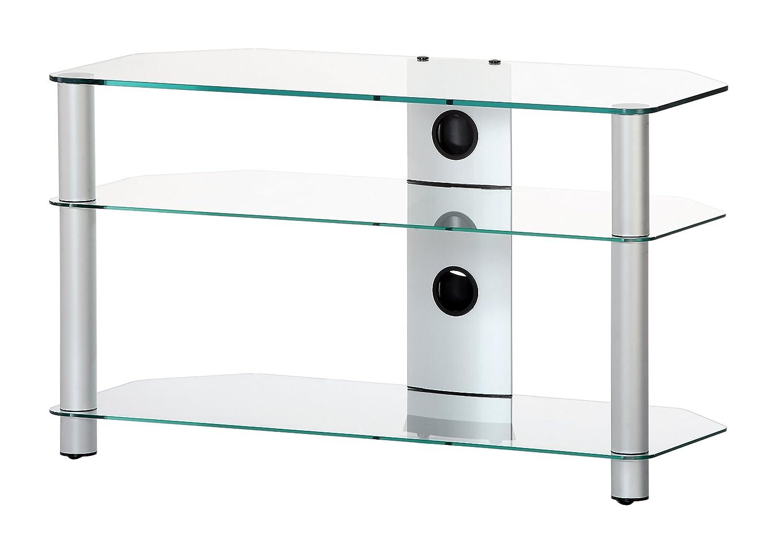 sonorous neo 390 c slv tv tisch f r 40 fernseher ebay. Black Bedroom Furniture Sets. Home Design Ideas