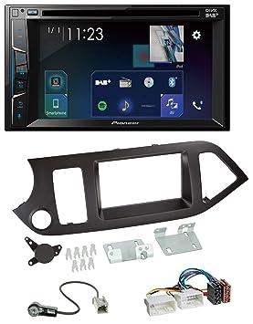 caraudio24 Pioneer Z310 0dab DVD 2DIN Bluetooth Dab USB MP3 Radio de Coche para Kia Picanto a Partir de noviembre de sin Start Stop: Amazon.es: Electrónica