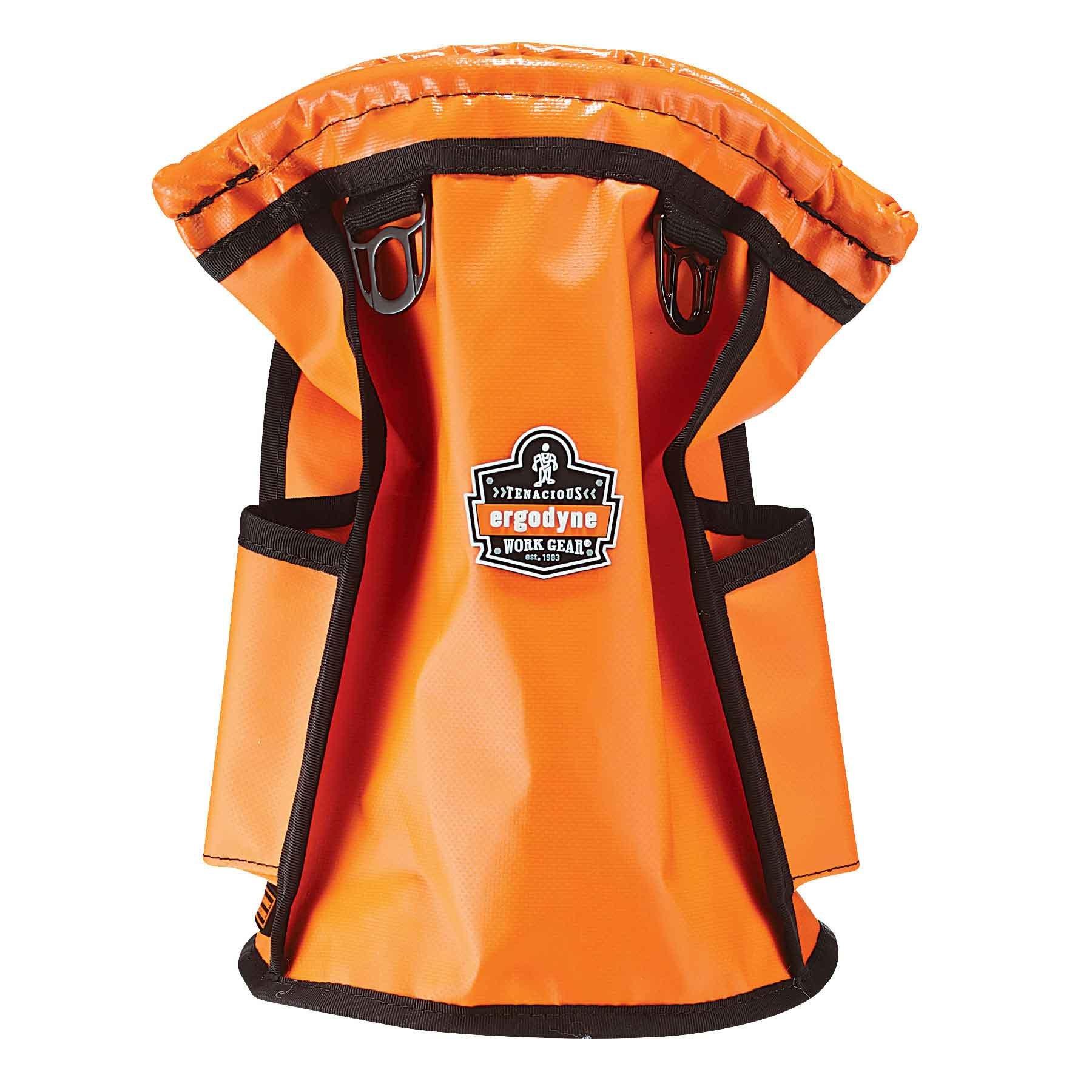 Ergodyne Arsenal 5538 Waterproof Tarpaulin Topped Parts Pouch, Orange