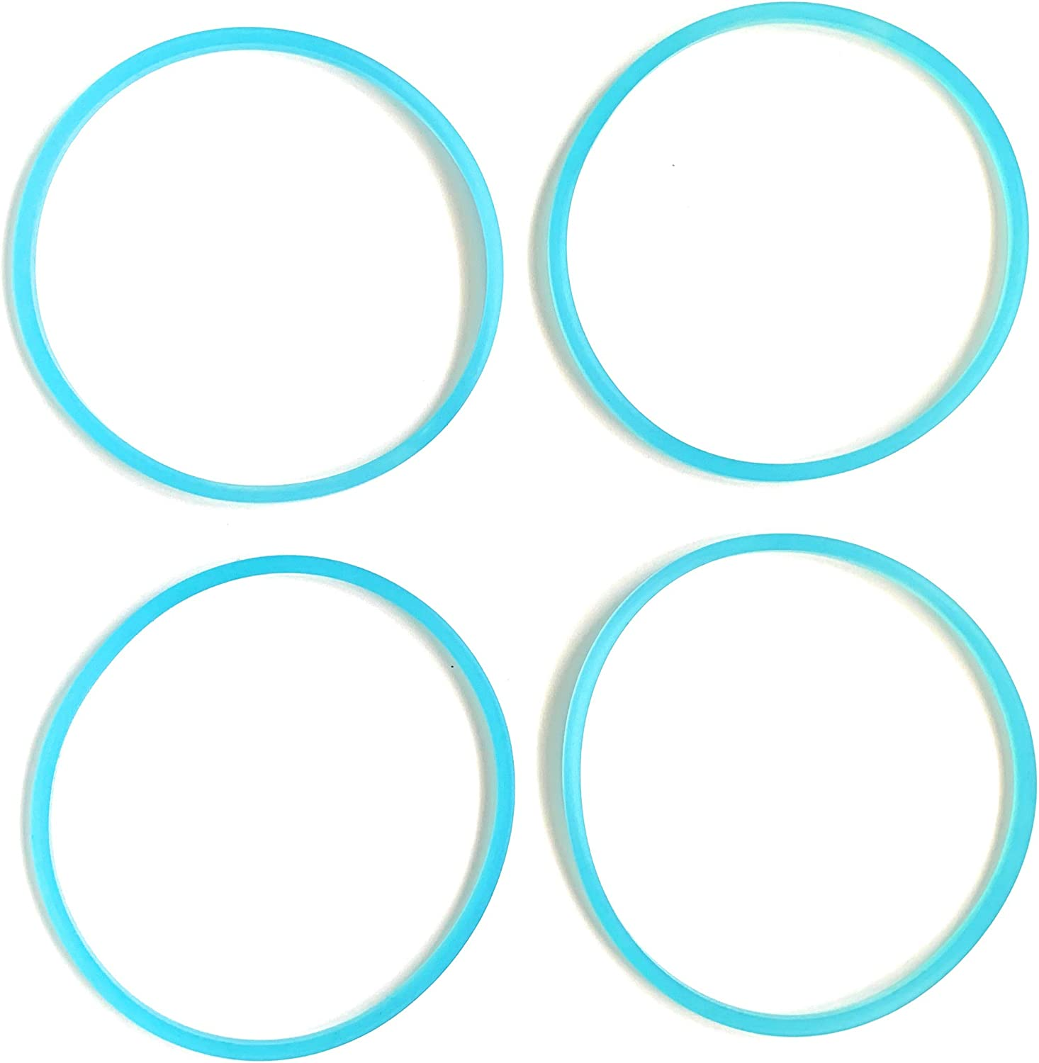 FAB INTERNATIONAL Replacement Gasket Compatible with Faberware Single Serve 4 Pk Blue 3