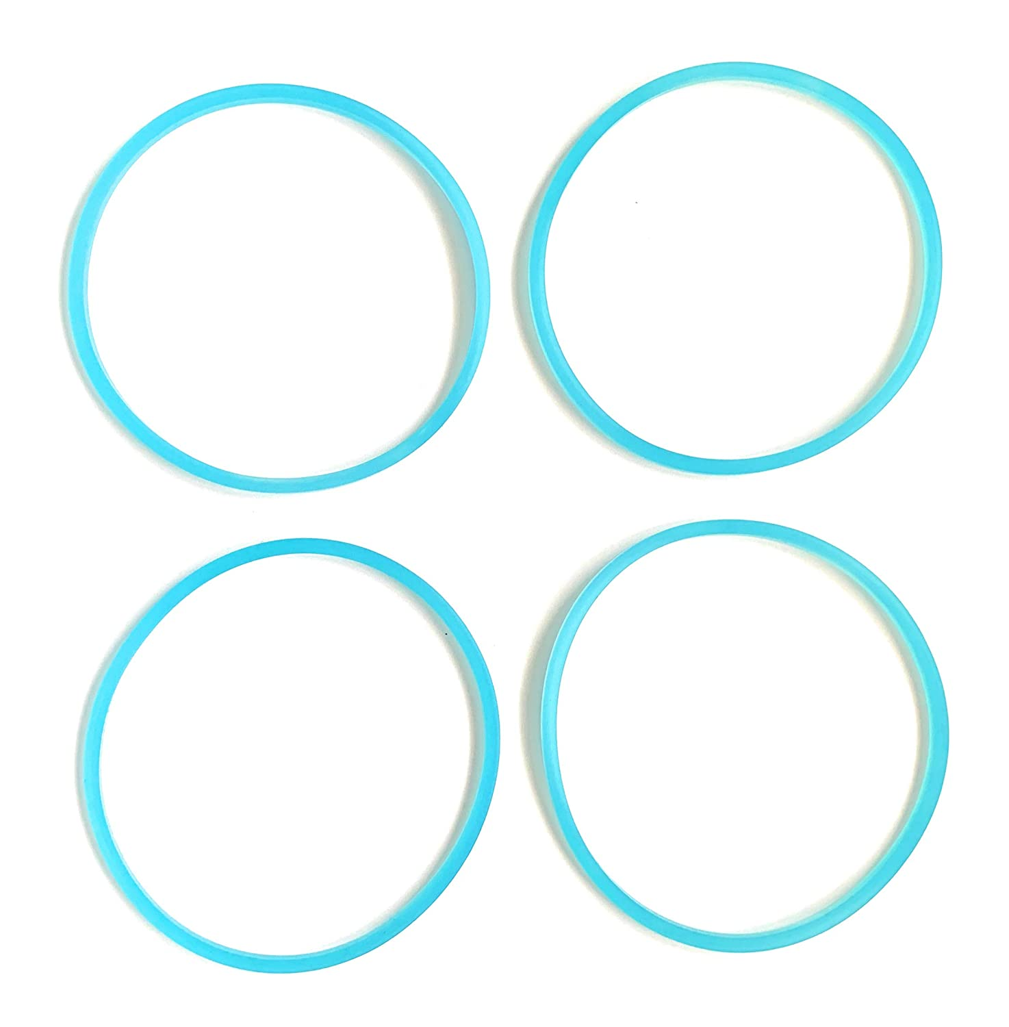 Replacement Gasket Compatible with Faberware Single Serve (4, Blue)