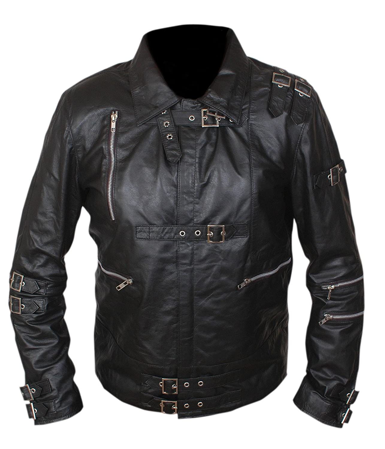 F/&H Kids Michael Jackson Bad Genuine Leather Jacket