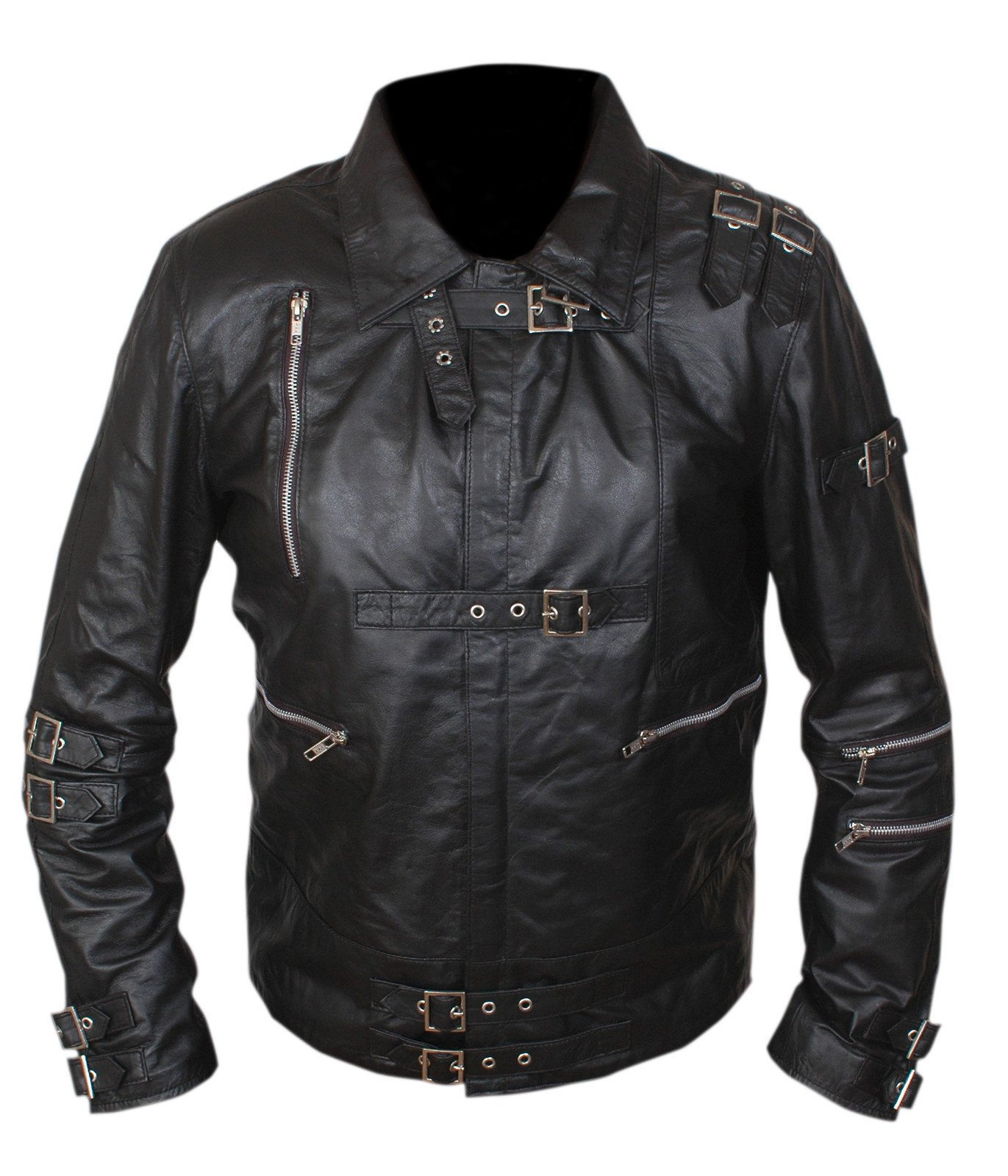 F&H Boy's Michael Jackson Bad Jacket S Black by Flesh & Hide