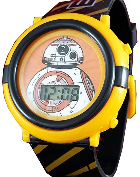 Star Wars Kid s BB8 Digital Light Up reloj swm3005