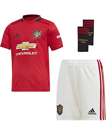2d2e698f7 adidas Manchester United 2019/20 Kids Junior Mini Home Football Kit Red
