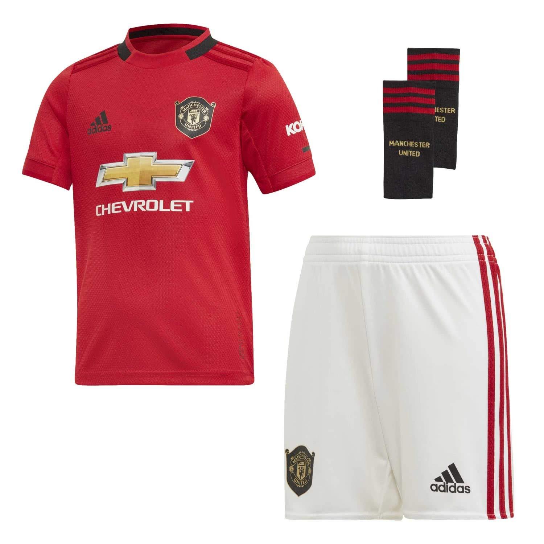 finest selection c5e15 2b5ed adidas Manchester United 2019/20 Kids Junior Mini Home ...
