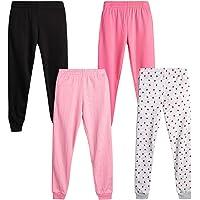 Active Warm-Up Track Fleece Jogger Pants bebe Girls Sweatpants