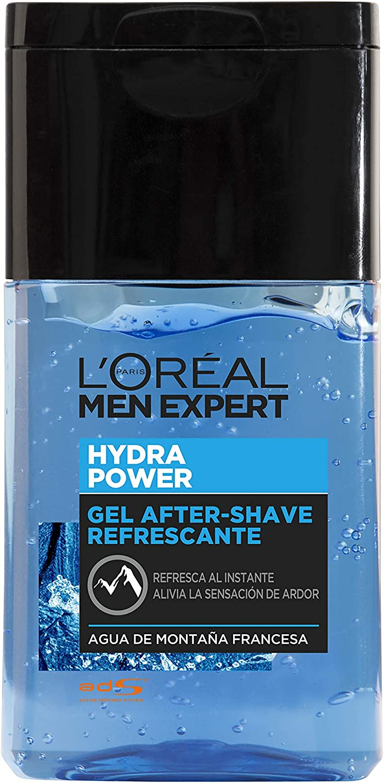 L'Óreal Paris Men Expert Hydra Power - Gel After Shave Refrescante, 125 ml