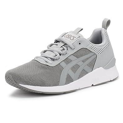 grey asics trainers