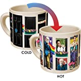 Great Gays Heat Changing Mug - Add Coffee or Tea and Famous Gays From History Come Out of the Closet - Comes in a Fun Gift Box