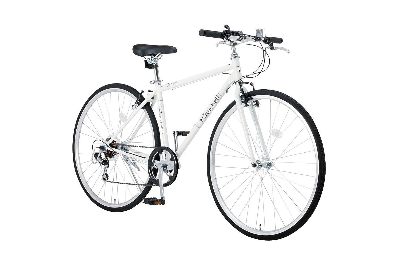 Raychell(レイチェル) 700Cクロスバイク シマノ7段変速 フロントライト標準装備 CR-7007R [メーカー保証1年] B075GSTV49ホワイト