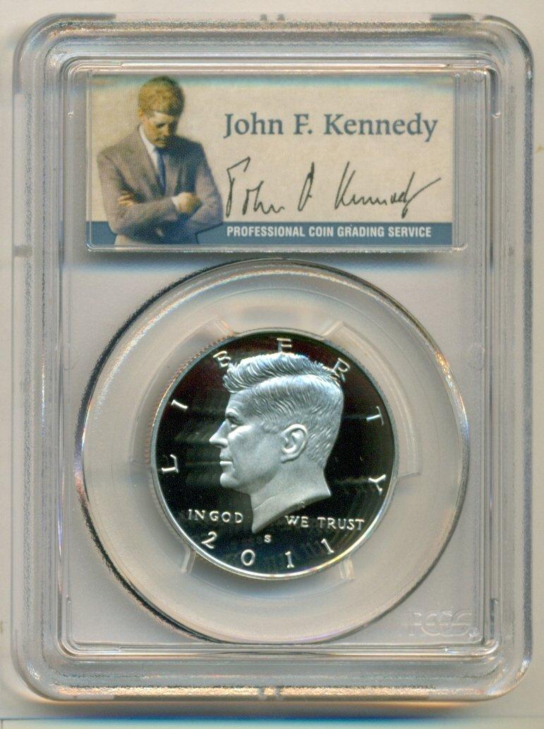 1991 S Kennedy Half Dollar Fifty Cents 50c Coin PCGS PR69DCAM