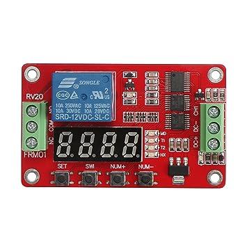 DROK® 30 A Portable Power Switch 12 V DC Corriente Eléctrica Amp Tabla de relés